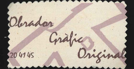 """Projecte:   """"OBRADOR GRÀFIC ORIGINAL"""""""